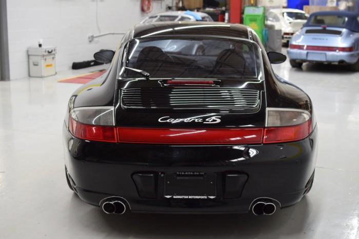 Black Porsche 911 4S Back