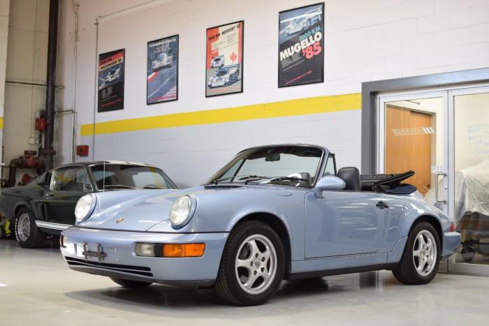 Porsche Carrera Front Right View