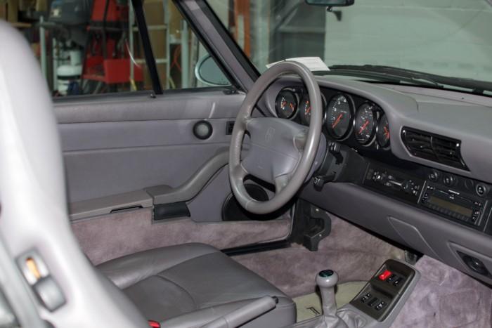 Porsche Passenger Side View