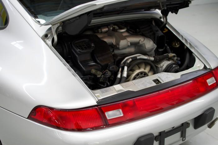 Porsche Engine Left Side View