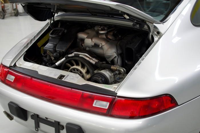 Porsche Engine Right Side View