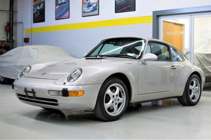 Porsche Front View