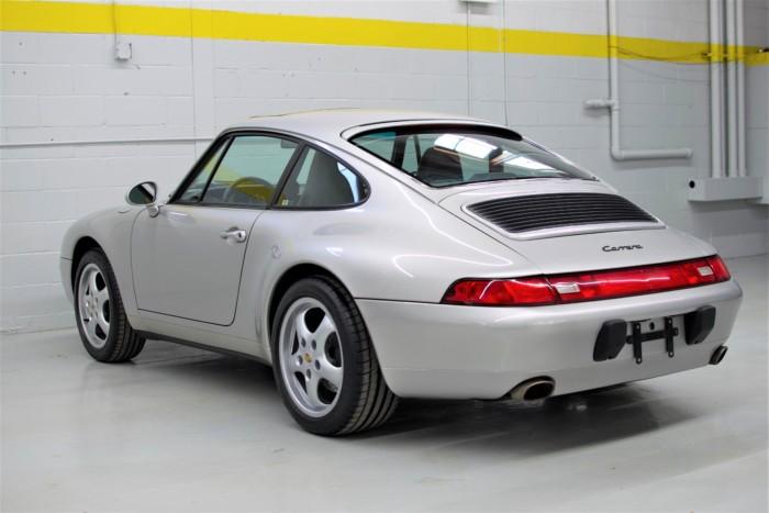 Porsche Back View