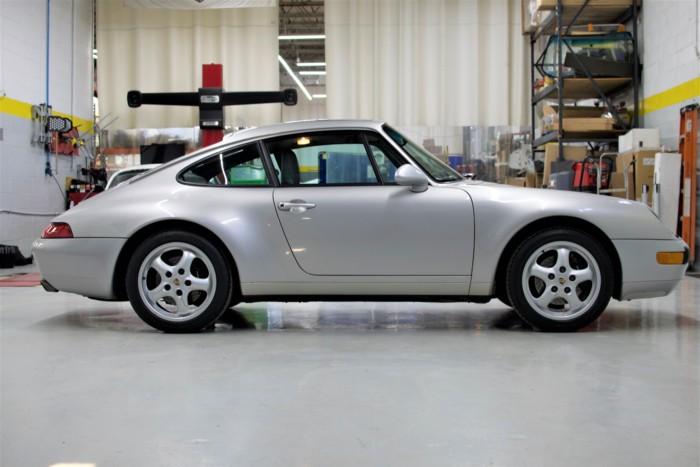 Porsche Side View