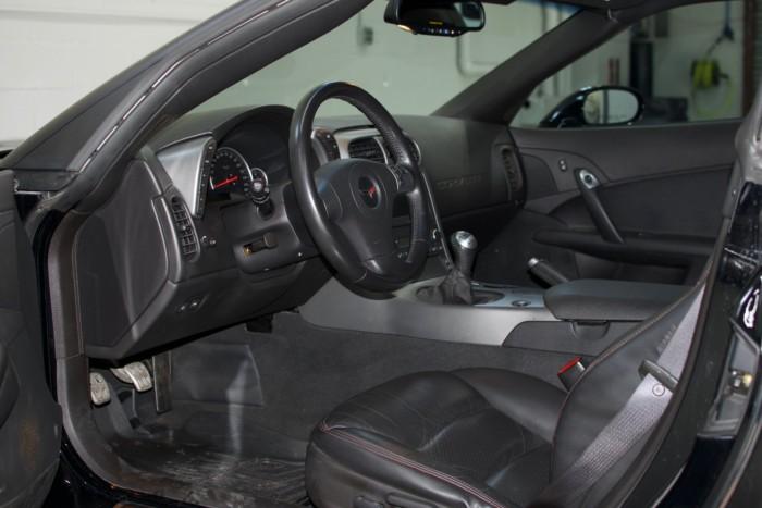 Corvette Z06 Interior Driver Side View