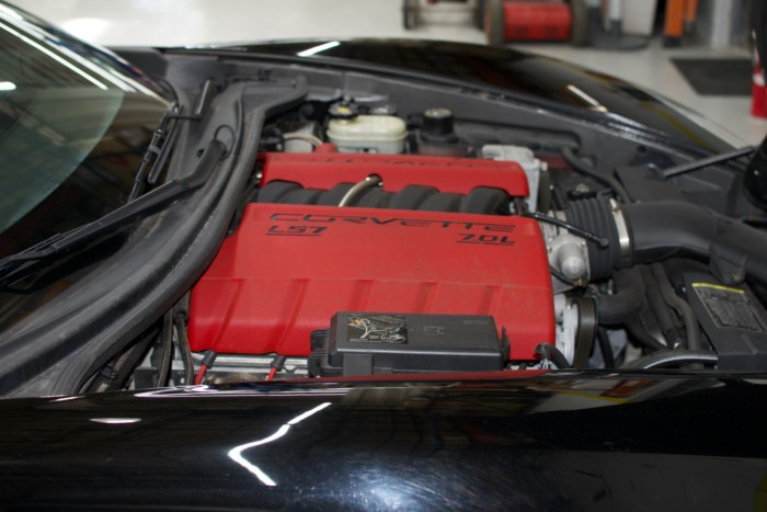 Corvette Z06 Right Side Engine View