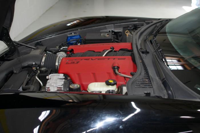 Corvette Z06 Engine Left Side View