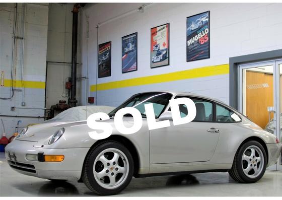 Porsche Front View Sold